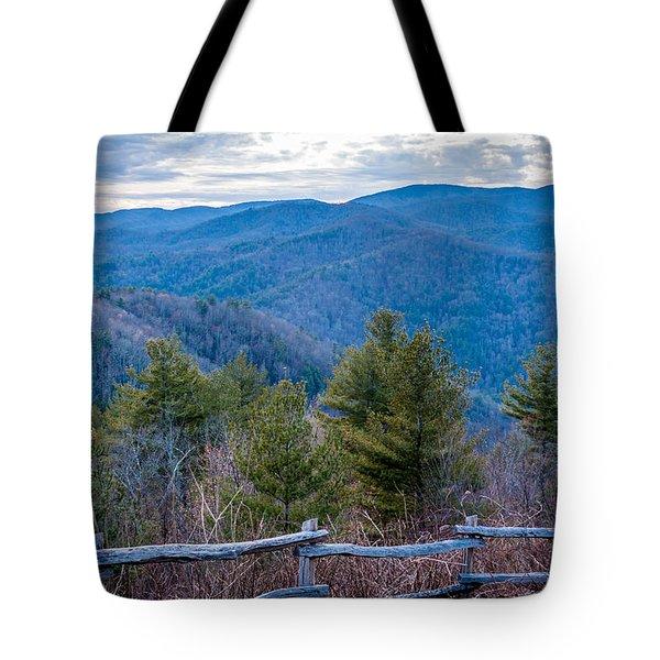 Mark Hannah Overlook Cataloochee Tote Bag