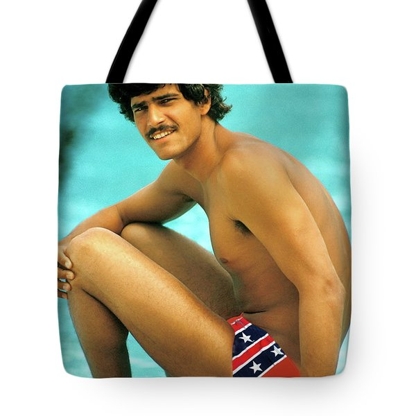 Mark Spitz, Olympic Champion Tote Bag