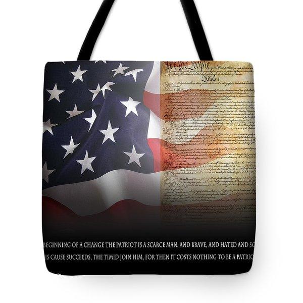 Mark Twains Patriot Tote Bag