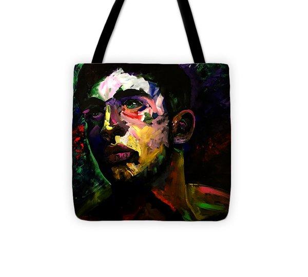 Mark Webster Artist - Dave C. 0410 Tote Bag by Mark Webster Artist