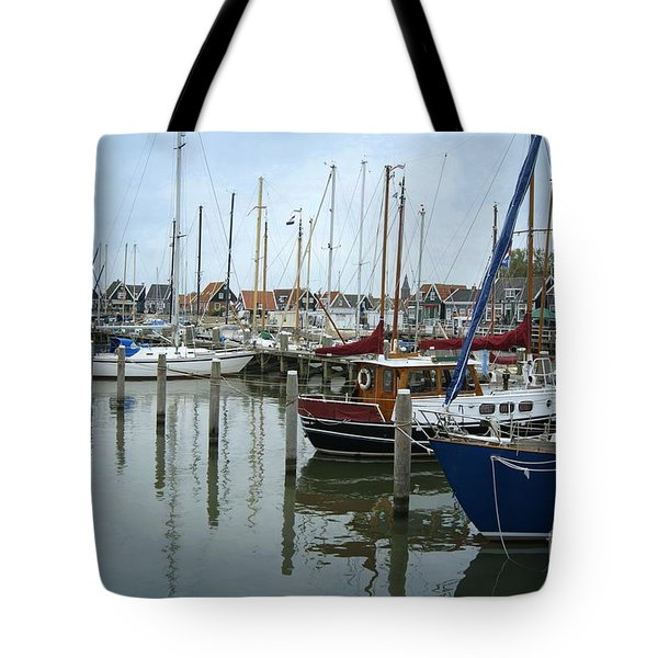 Marken Harbour Tote Bag