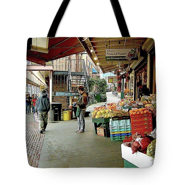 Market Alley Wares Tote Bag