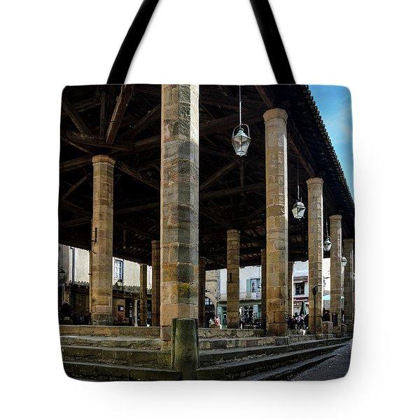 Market Hall Of Cordes-sur-ciel Tote Bag by RicardMN Photography