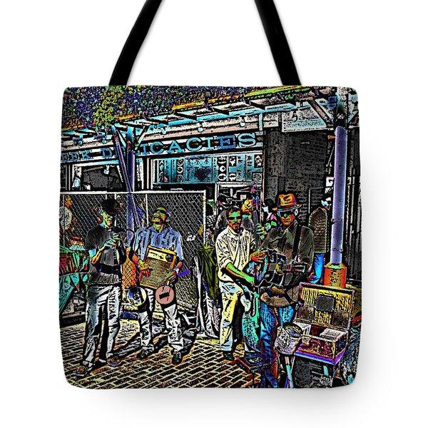 Market Interlude 2 Tote Bag by Tim Allen