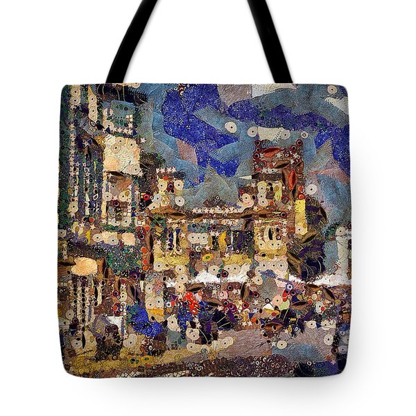 Market Square Monday Tote Bag