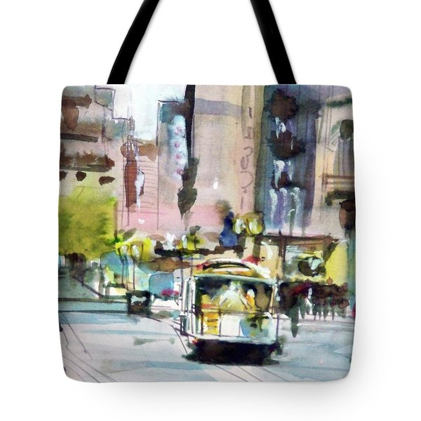 Market Street Tote Bag by Ed Heaton