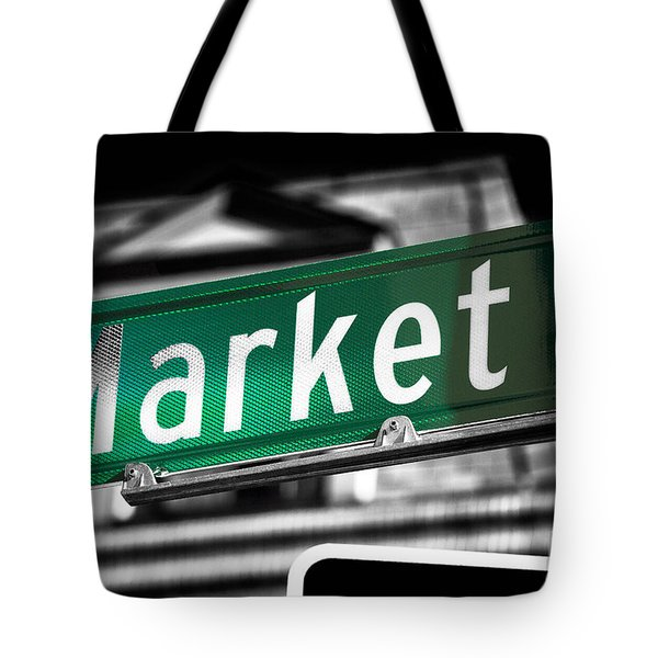 Market Street Fusion Tote Bag