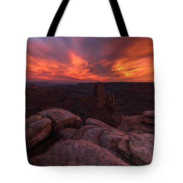 Marlboro Point Tote Bag by Dustin  LeFevre
