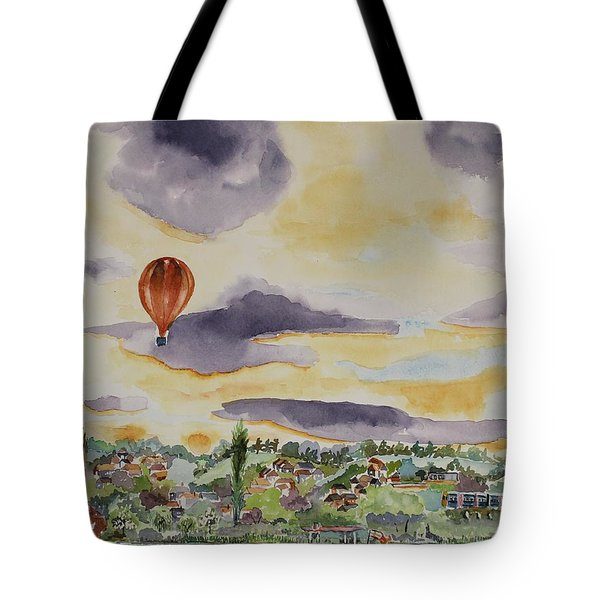 Tote Bag featuring the painting Marlow Impression by Geeta Biswas