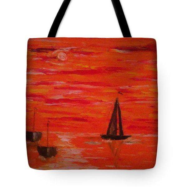 Marmalade Skies Tote Bag