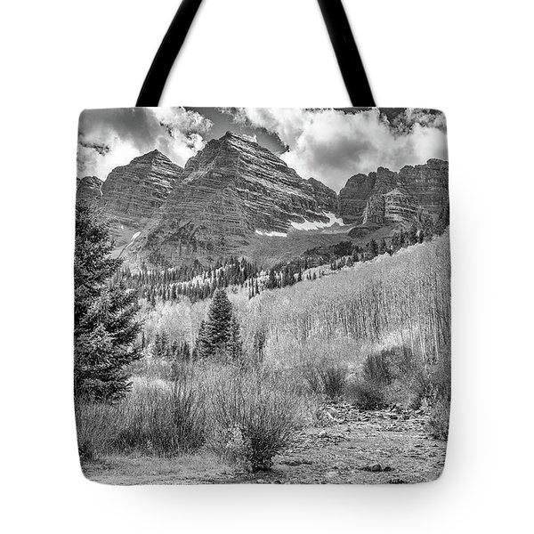 Maroon Creek Monochrome Tote Bag
