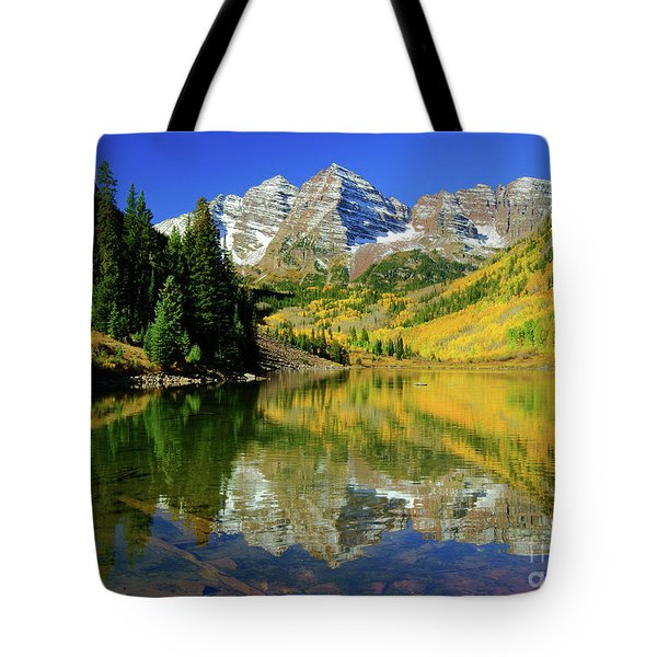 Maroon Lake Autum - 1 Tote Bag