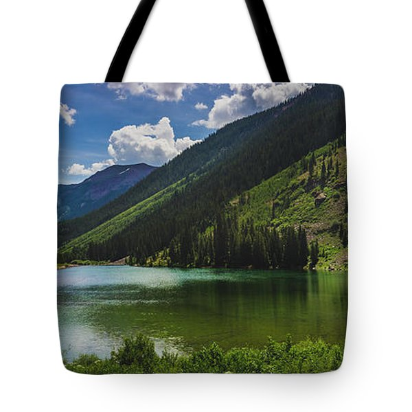 Maroon Lake Panorama Tote Bag