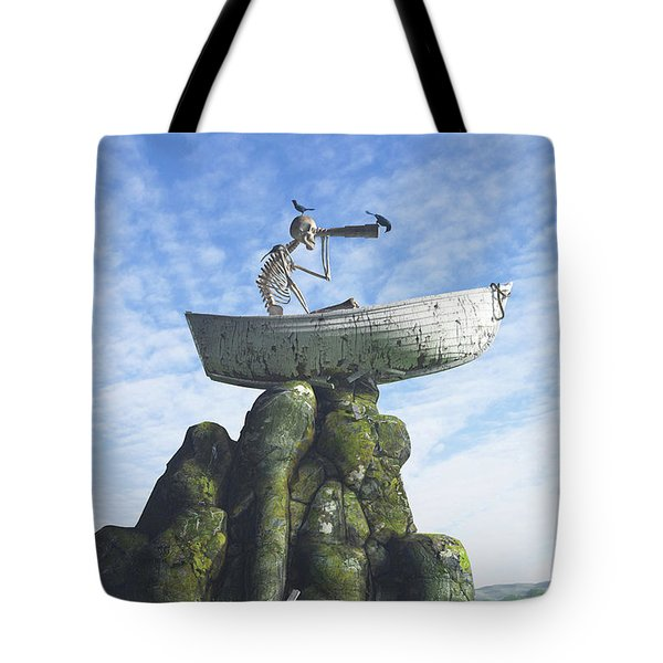 Marooned Tote Bag by Cynthia Decker