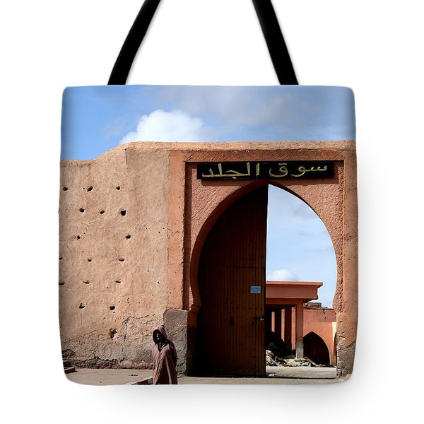 Tote Bag featuring the photograph Marrakech 1 by Andrew Fare