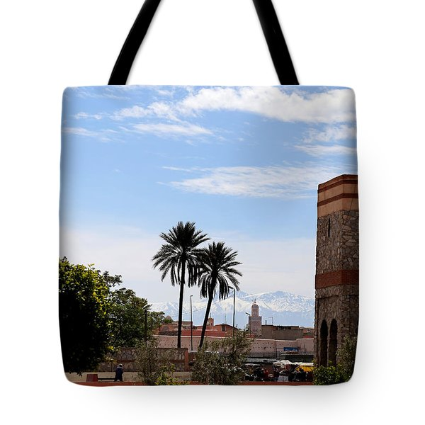 Tote Bag featuring the photograph Marrakech 2 by Andrew Fare