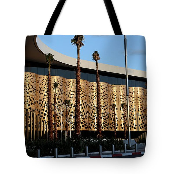 Tote Bag featuring the photograph Marrakech Airport 1 by Andrew Fare