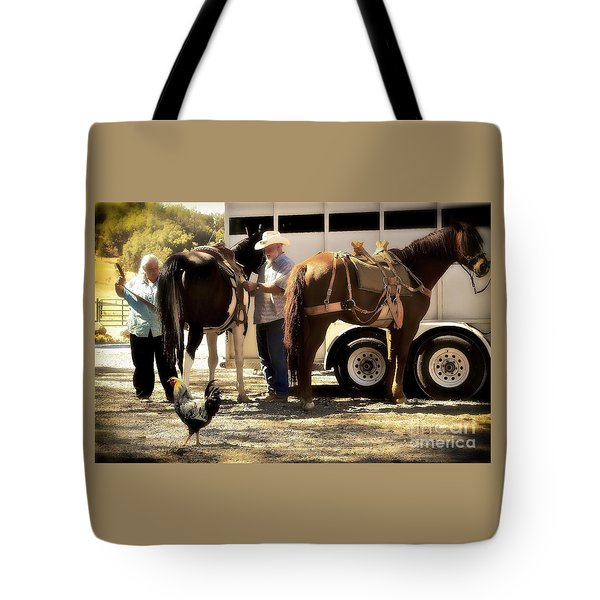 Marriage And The Deer Hunters Tote Bag