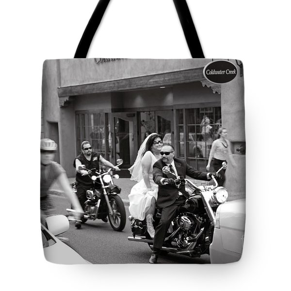 Marriage In Santa Fe Tote Bag