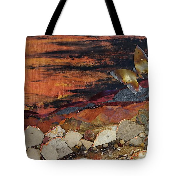 Mars Butterfly Effect Tote Bag