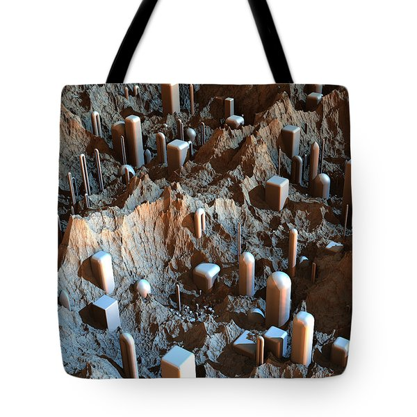 Mars Colony One Tote Bag