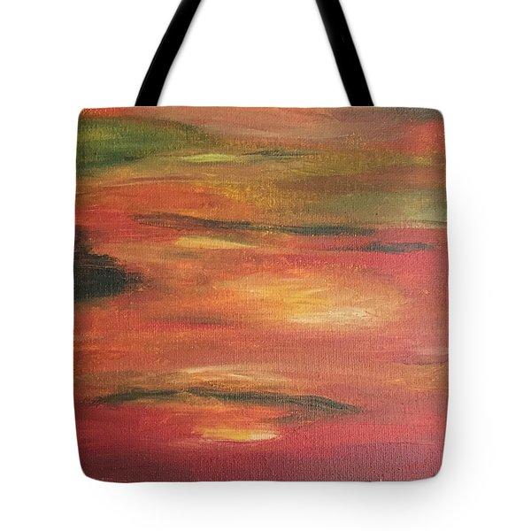 Mars Landing Tote Bag