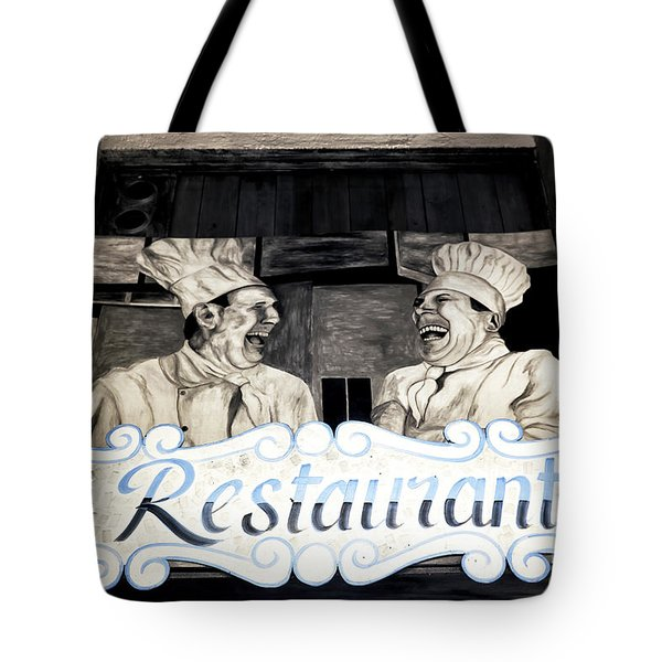 Marseille Restaurant Tote Bag