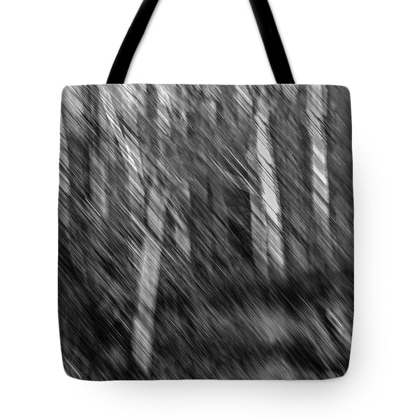 Marsh Abstract Tote Bag by Thomas Young