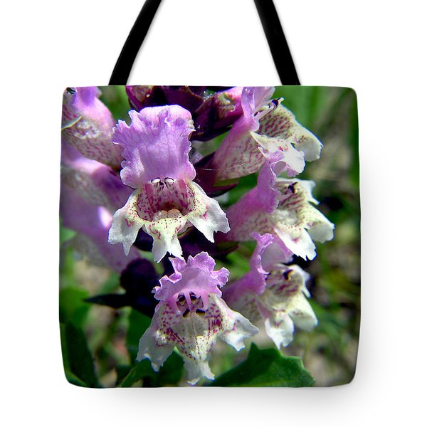 Marsh Flower Tote Bag