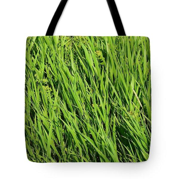 Marsh Grasses Tote Bag