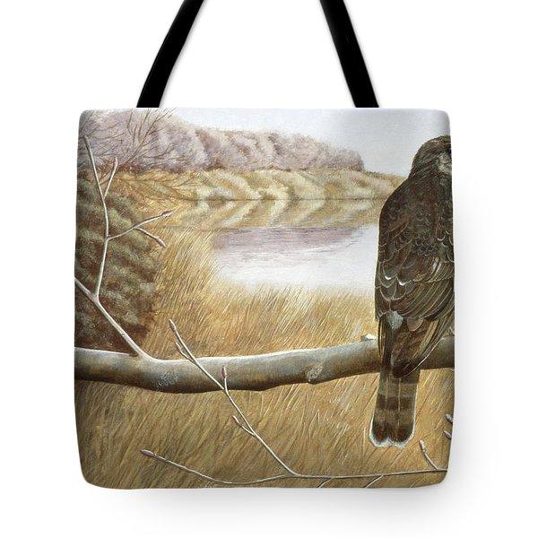 Marsh Hawk Tote Bag