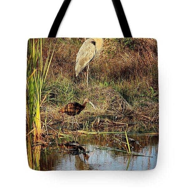Marsh Land Tote Bag