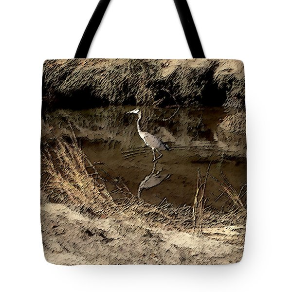 Marsh Bird Tote Bag