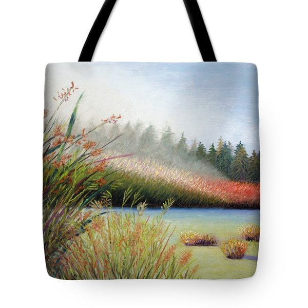 Marsh Morning Tote Bag