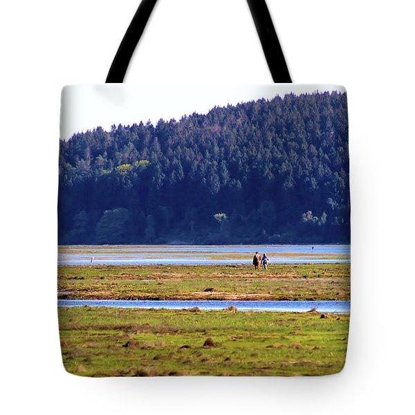 Marsh People Tote Bag