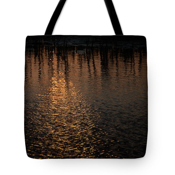 Marsh Sunrise Tote Bag