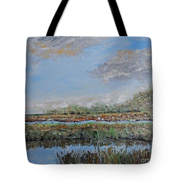 Marsh View Tote Bag