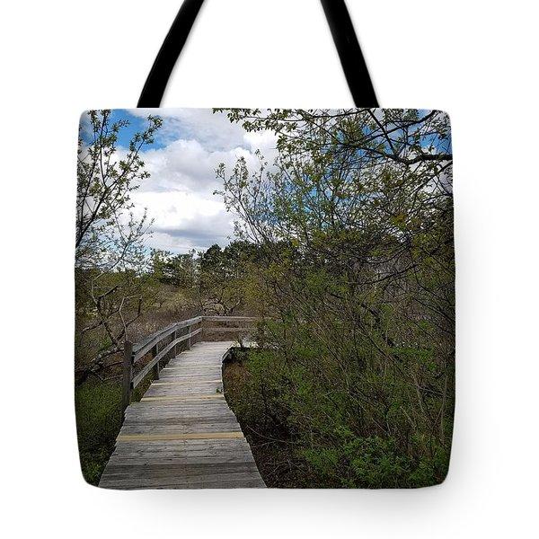 Marsh Walk Tote Bag