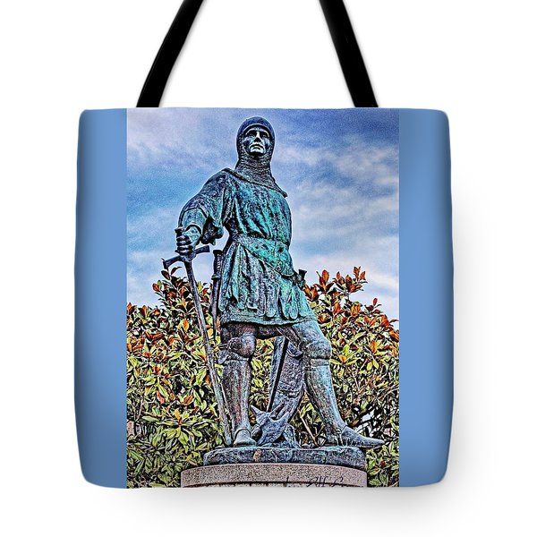 Tote Bag featuring the photograph Marshal Of Brittany Jehan De Beaumanoir by Elf Evans