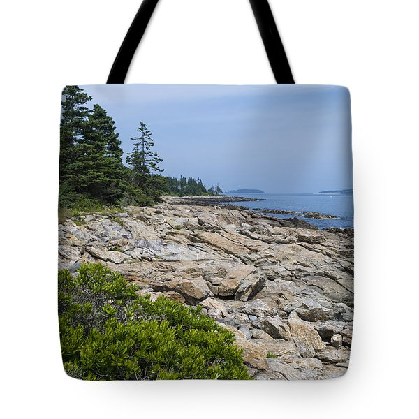 Marshall Ledge Looking Downeast Tote Bag
