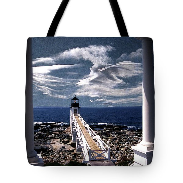 Marshall Point Lighthouse Maine Tote Bag