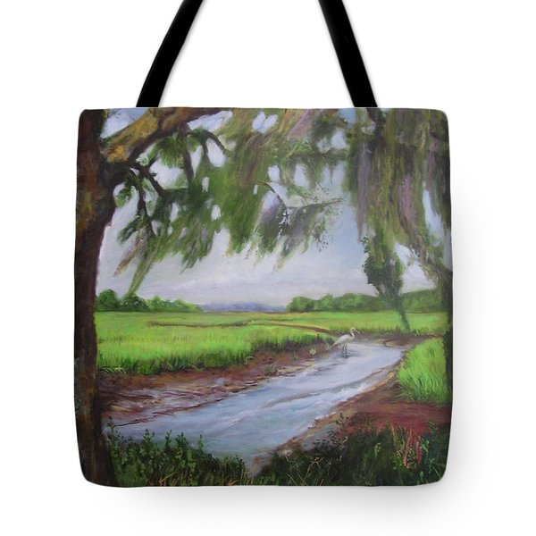 marshes of Charleston  Tote Bag