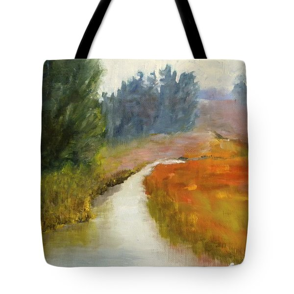 Marshes Of New England Tote Bag