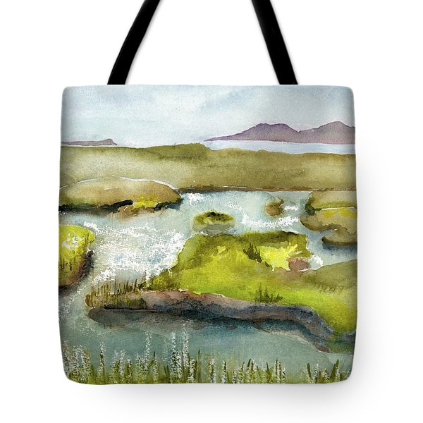 Marshes With Grash Tote Bag