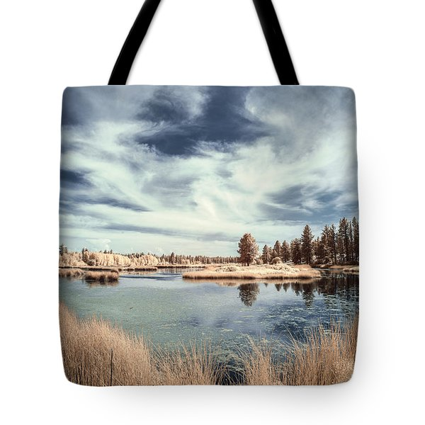 Marshlands In Washington Tote Bag by Jon Glaser