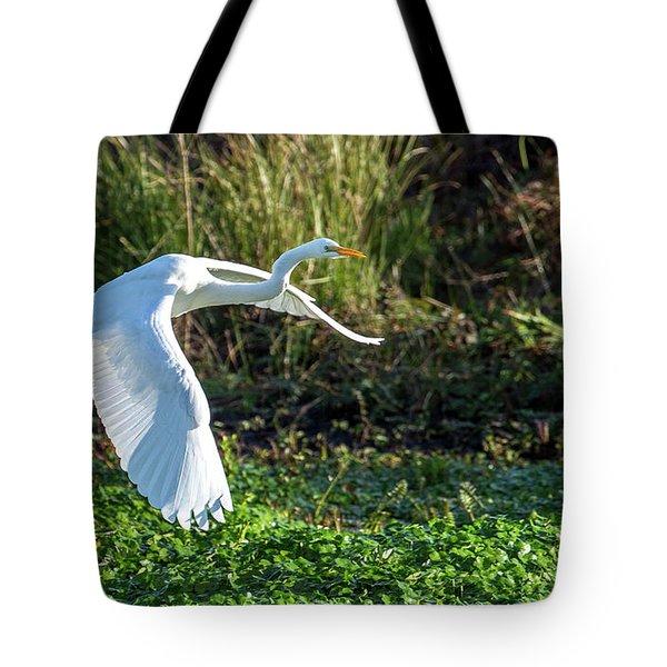 Marshy Flight  Tote Bag
