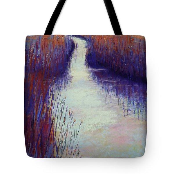 Marshy Reeds Tote Bag