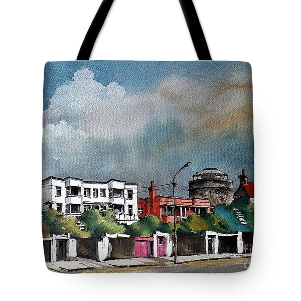 F  732 Martello Tower Bray Seafront Wicklow.. Tote Bag