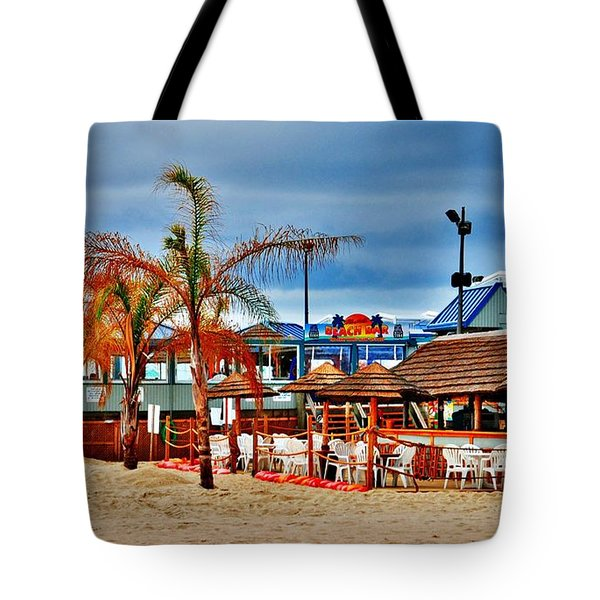 Martells On The Beach - Jersey Shore Tote Bag
