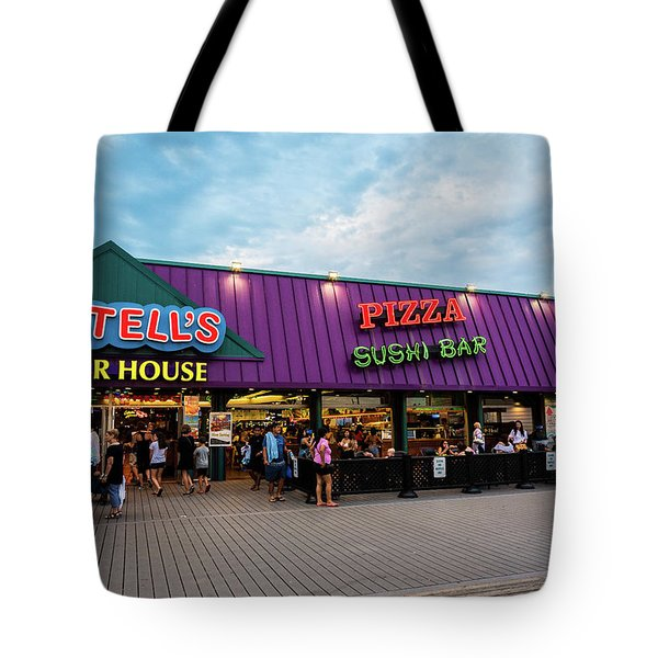 Martell's Point Pleasant Boardwalk Tote Bag